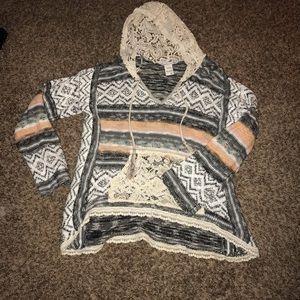 American Rag hooded sweater